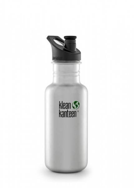 Bilde av Drikkeflaske Sport 532 ml, Brushed Stainless / Klean Kanteen