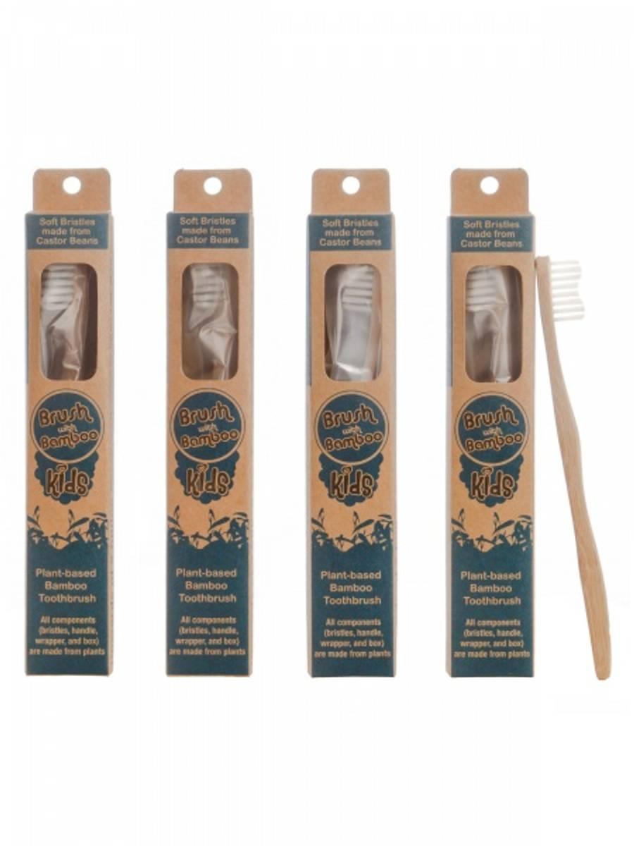 Barnetannbørste i bambus, Brush With Bamboo