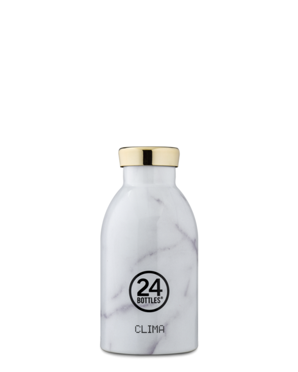 CLIMA 0.33L Isolert termoflaske  Carrara / 24Bottles