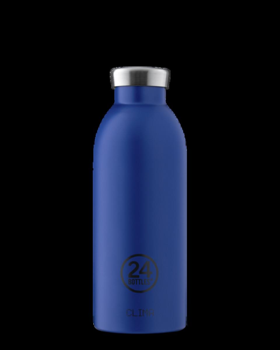 CLIMA 0.5L Isolert termoflaske Gold Blue / 24Bottles