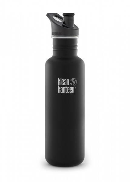 Bilde av Drikkeflaske Sport 800 ml, Shale Black / Klean Kanteen