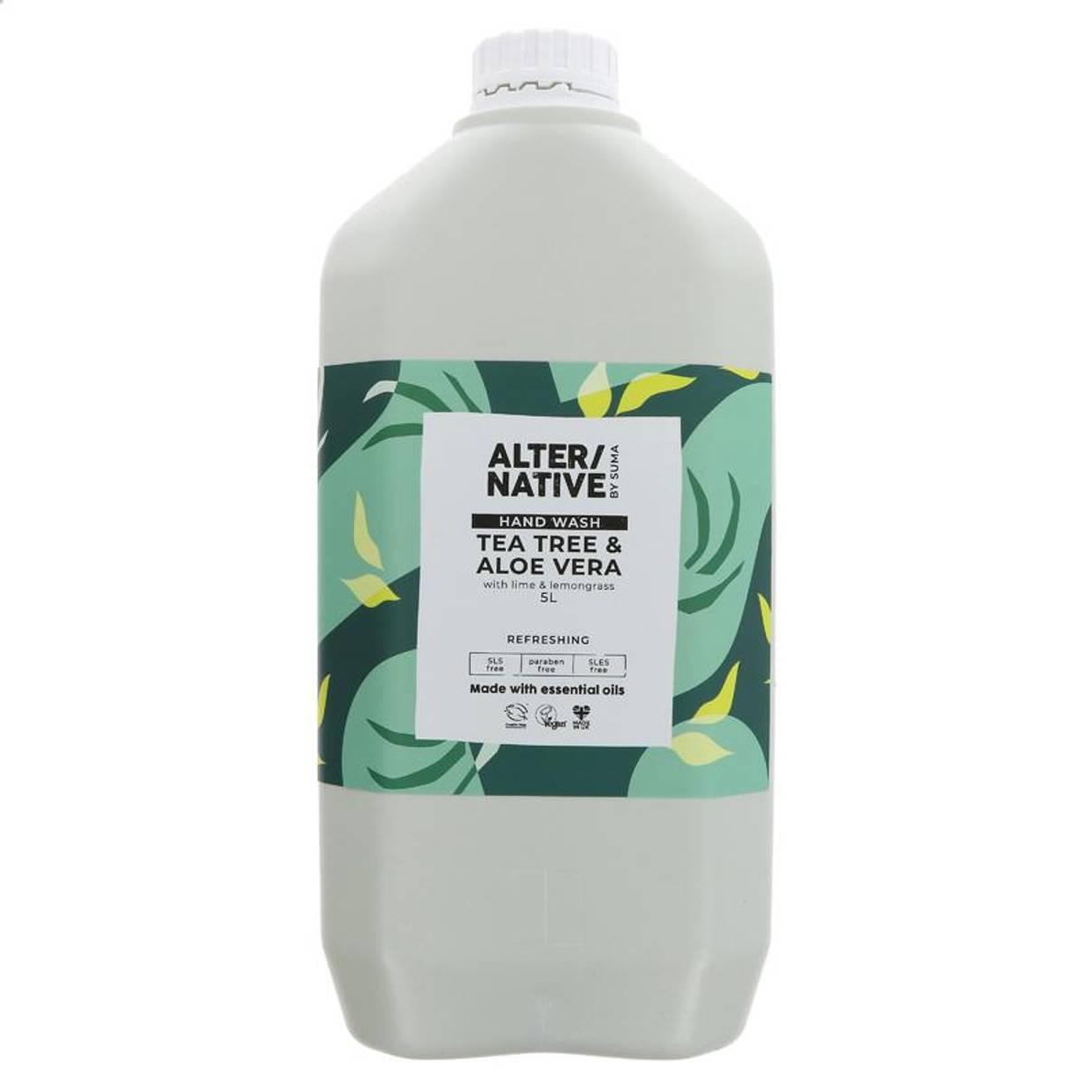 5L flytende håndsåpe Tea Tree & Aloe Vera / Alter/native