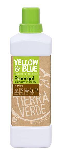 Bilde av 1l flytende klesvask ull/silke, Yellow & Blue