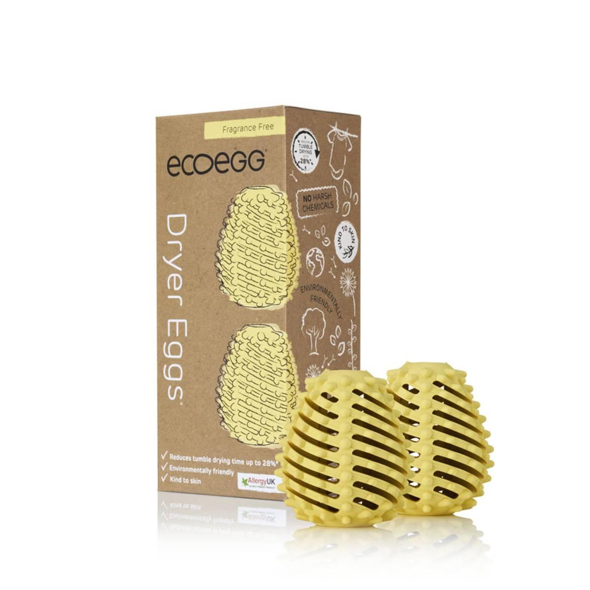 Ecoegg 2-pk tørkeballer / duftfrie
