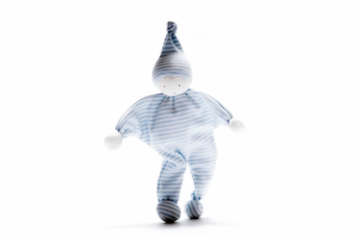 Koseklut Pale blue stripe / Fairtrade & økologisk