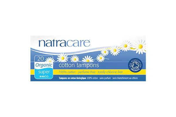 Bilde av 20 stk SUPER økologiske tamponger / Natracare