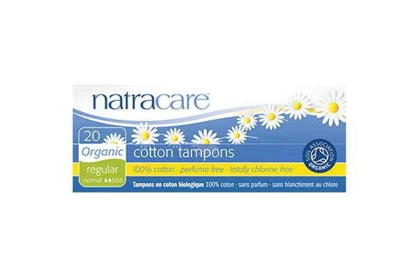 Bilde av 20 stk REGULAR økologiske tamponger / Natracare