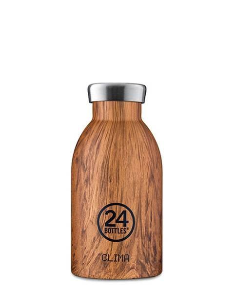 Bilde av CLIMA 0.33L Isolert termoflaske Sequoia Wood / 24Bottles