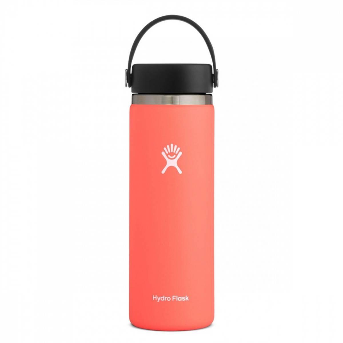 Termoflaske 591ml, HIBISCUS,Wide Mouth Flex Cap / Hydro Flask