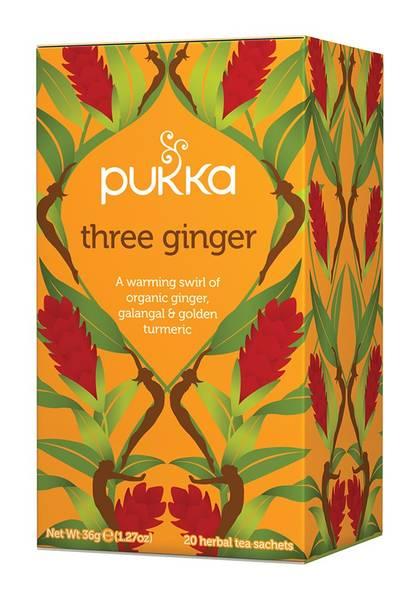 Bilde av Pukka Three Ginger 20 teposer