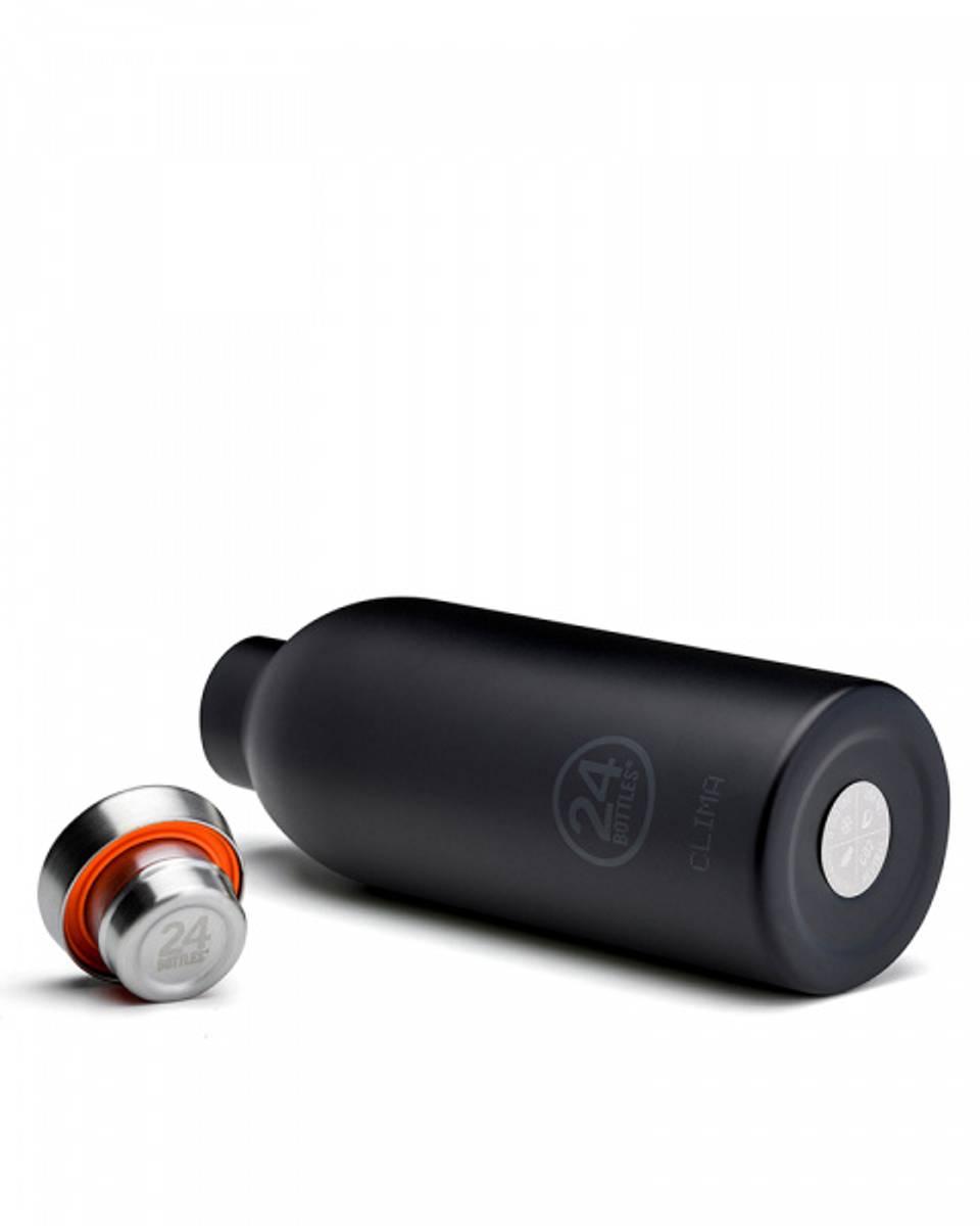 CLIMA 0.5L Isolert termoflaske Tuxedo Black / 24Bottles