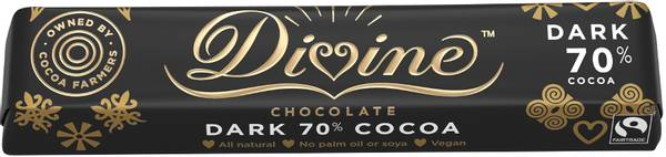 Bilde av 70% sjokolade 35 g / Divine
