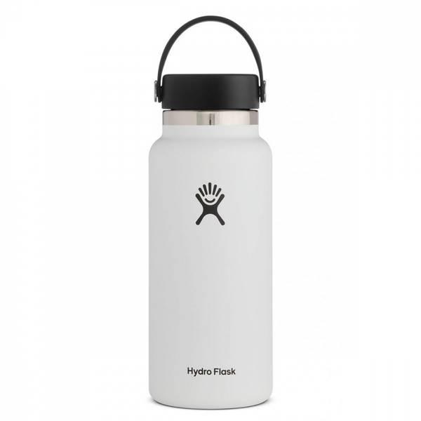 Bilde av Termoflaske 946 ml, WHITE,Wide Mouth Flex Cap / Hydro Flask