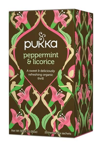 Bilde av Pukka Peppermint & Licorice 20 teposer