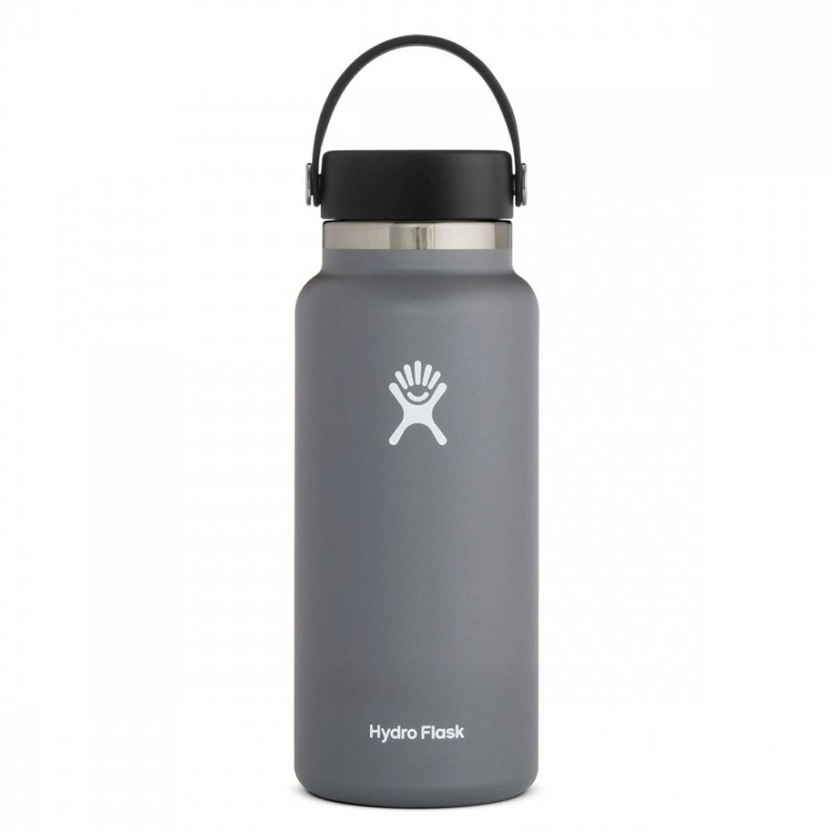 Termoflaske 946 ml, STONE,Wide Mouth Flex Cap / Hydro Flask