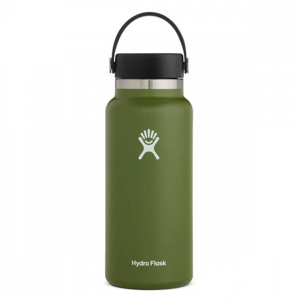 Bilde av Termoflaske 946 ml, OLIVE,Wide Mouth Flex Cap / Hydro Flask