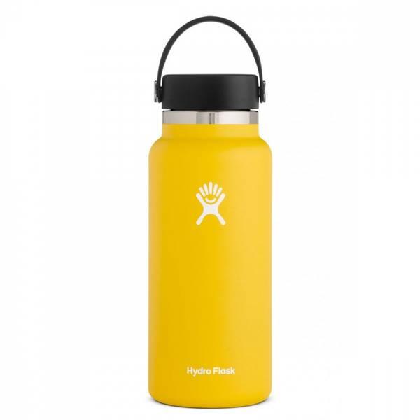 Bilde av Termoflaske 946 ml, SUNFLOWER,Wide Mouth Flex Cap / Hydro Flask