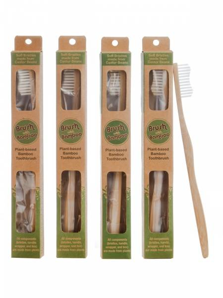 Bilde av  Tannbørste i bambus / Brush With Bamboo