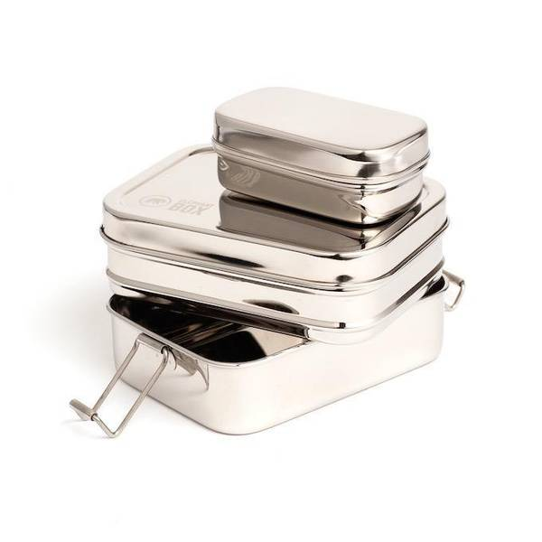 Bilde av Tre-i-en matboks i stål, Elephant Box