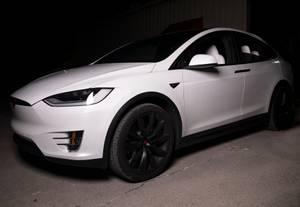 Bilde av Tesbros Chrome Delete Kit Tesla Model X