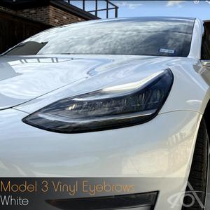Bilde av Eyebrows Tesla Model 3
