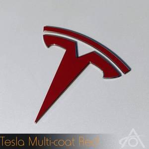 Bilde av Logo folie Tesla Model Y (Foran og bak)