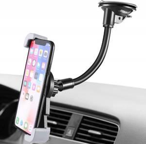 Bilde av Mobilholder med diagonale klemmer og kraftig