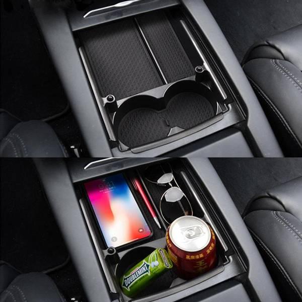 Midtkonsoll oppbevaring Tesla Model S & X
