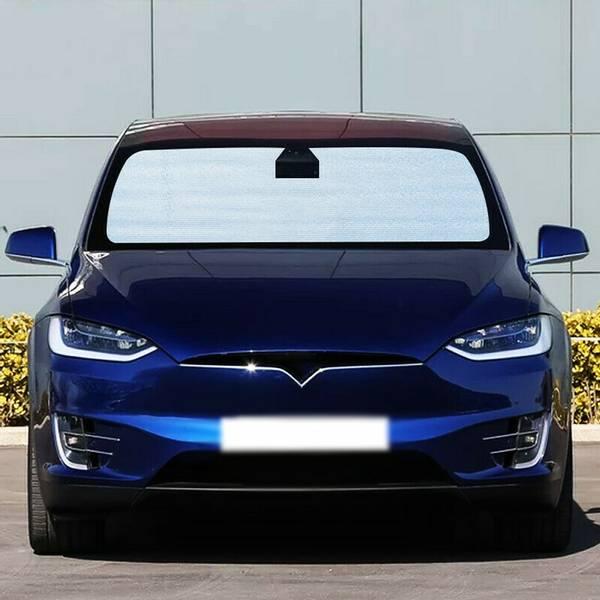 Solskjerm - Komplett sett - Tesla Model X