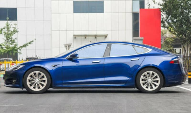 Solskjerm - Komplett sett - Tesla Model S