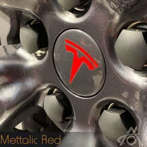 Bilde av Folie hjulmerke Tesla