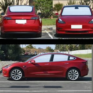 Bilde av Solskjerm - Komplett sett - Tesla Model 3