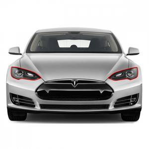 Bilde av Tesla Model S 2012-> Lyktbeskytter Folie