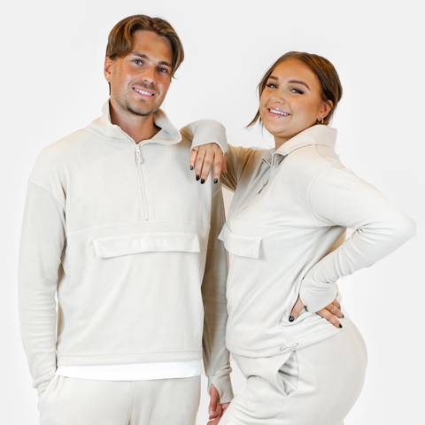 Bilde av Fleece pullover - sand