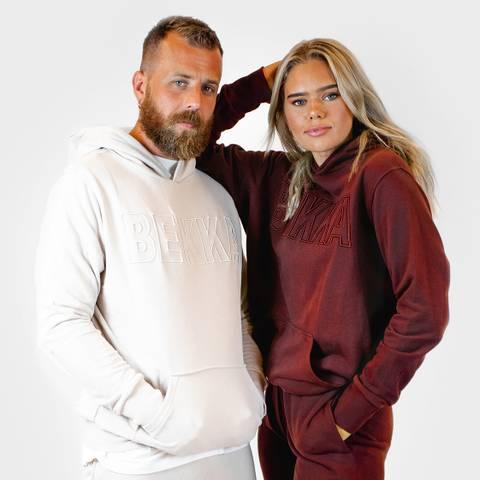 Bilde av HIM&HER hoodie - burgundy