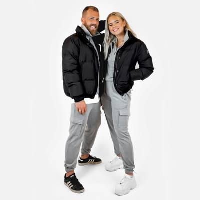 Bilde av Padded jacket - black