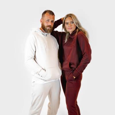 Bilde av HIM&HER pant - burgundy