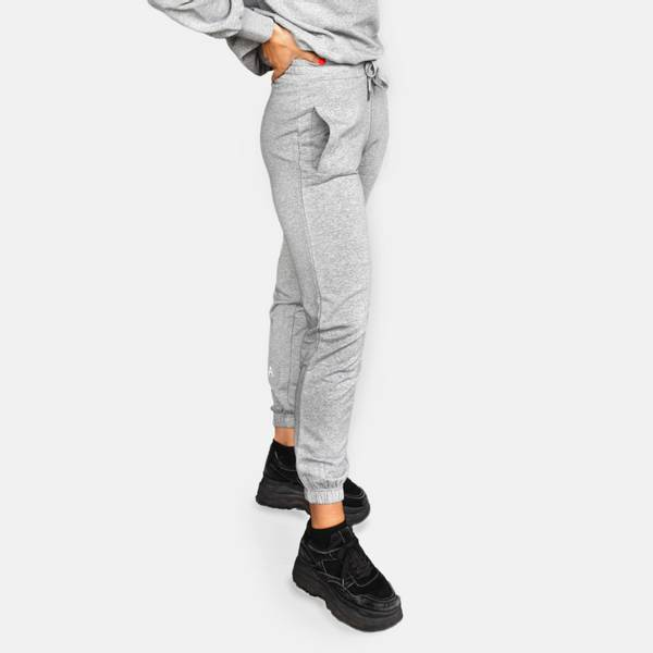 Highschool pant - gray melange