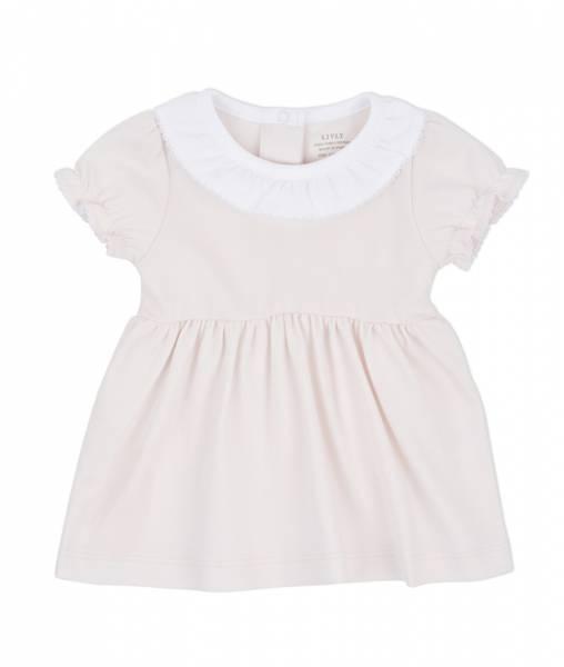LIVLY Baby Collar Dress - Light Pink