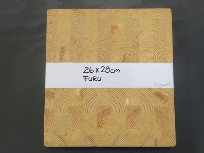 Bilde av Endevedsfjøl i furu 26 x 28 cm