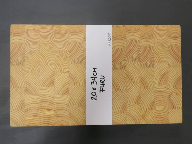 Bilde av Endevedsfjøl i furu 20 x 34 cm
