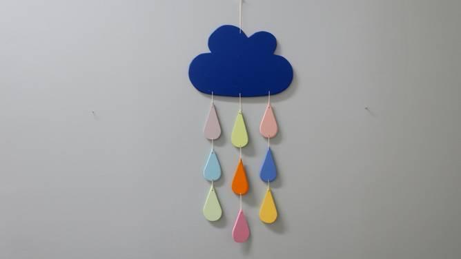 Bilde av Uro i skyen, assorterte farger