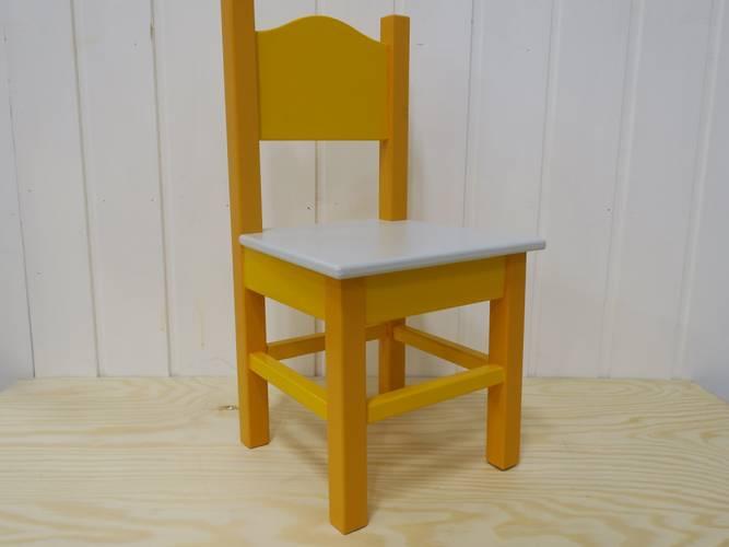 Bilde av Barnestol gul
