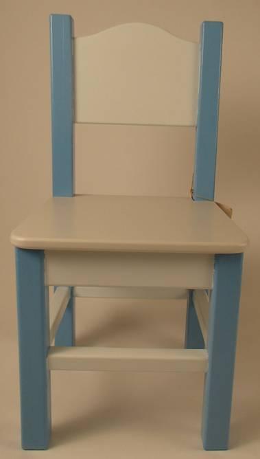 Bilde av Barnestol mellomblå