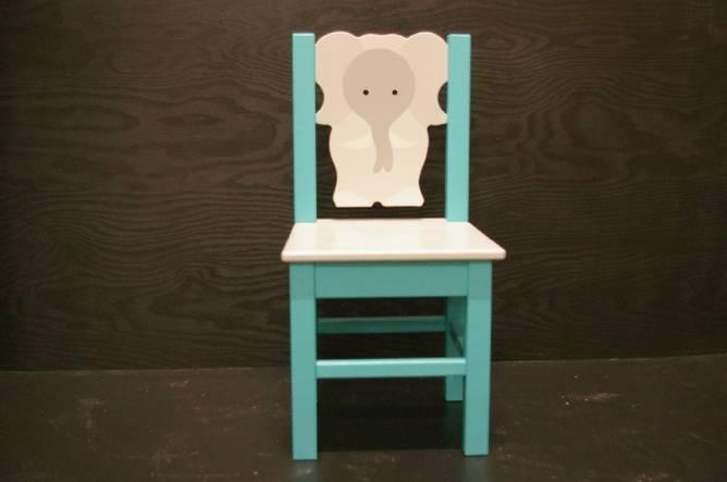 Bilde av Elefantstol turkis
