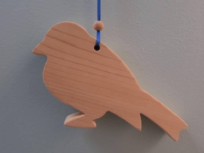 Bilde av Sedertre mot møll, fugl