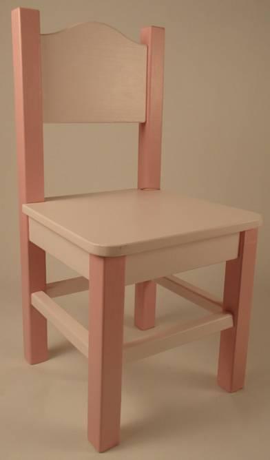 Bilde av Barnestol lys rosa