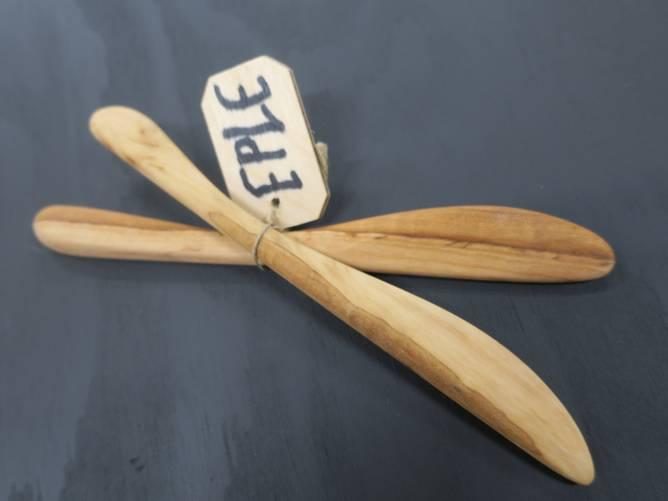 Bilde av 2 smørkniver eple