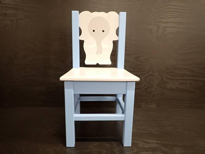 Bilde av Elefantstol lys blå
