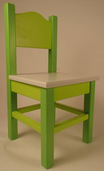 Bilde av Barnestol #2 grønn
